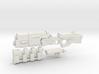 1/18th Scale Railgun Extended Sprue 3d printed