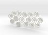 MiniFloppyBot-WheelKit 3d printed