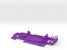 Slot car chassis for Enzo 1/28 3d printed