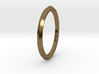 Penta Ring - An unconventional Wedding Ring 3d printed