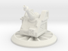 6mm Scale Artillery Gun Turret 3d printed