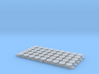 N scale PRR Blank Round Number Board for Steam Eng 3d printed