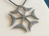 Dolphintail Pendant 1.75 inches 3d printed