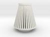Cone Air Filter 1/12 3d printed
