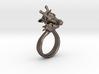 Giraffe Ring Size 7 3d printed