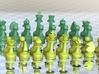 MILOSAURUS Chess LARGE Staunton Pawn 3d printed