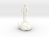 Male Halfling Bard With Rapier and Lutebow 3d printed