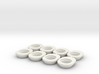 Xray X10-X1-X12 Rear Eccentric Height Adjuster 3d printed