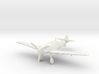 Messerschmitt Bf 109 T-1 (Gear Down) 1:100 WSF 3d printed