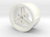 3-spoke Racing Wheel Medium High Offset 3d printed