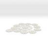 Medium Abha Poe vortex 12 coils & core 3d printed