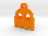 Pac Man Ghost 8-bit Earring 2 (looks down | moving 3d printed