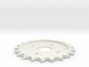 Spitfire Trim Wheel Cog 3d printed