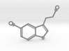 Serotonin Necklace Pednant 3d printed
