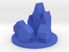 Game Piece, Medieval Europe City Token 3d printed