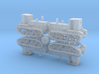 Russian STZ-3 Full Tracked Tractor 1/285 3d printed