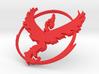 PokemonGo Team Valor Car Badge Emblem 3d printed