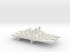 Shivalik-class frigate x 3, 1/3000 3d printed