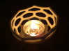 Coral style tea light bowl Ø12cm 3d printed 8cm Printed in White Strong Flexible