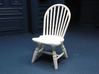1:24 Hoop Back Windsor Chair 3d printed Printed in White Strong & Flexible