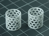 Sand Scorcher Air-filter Meshes 3d printed Air-filter Meshes, printed in nylon plastic, these come as a pair