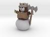 Snowman Barbarian 3d printed