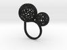 2 Polyps ring--singlefinger ring (L) 3d printed