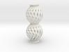 Lamp Ball Twist Spiral Column Small Scale 3d printed