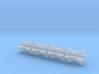 1/16 4 Inch Muffler Clamps 3d printed