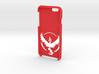 Iphone 6/6S Team Valor Case  3d printed