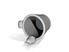 Totoro Cup 3d printed