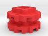 "Vex Mecanum Wheel Adapters for .77"" Profiles 3d printed"