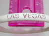 Bracelet Flexible Las Vegas 3d printed Las Vegas Bracelet Closeup Shows Detail - Actual Photo