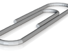 Paperclip 3d printed large paperclip