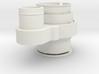 Stepcraft Absaugung und Niederhalter für HF Spinde 3d printed