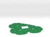 Multi Strip Lace Cutter : Spacers2mmx10pcs 3d printed