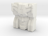 Kirk Faceplate (Titans Return) 3d printed
