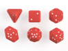 Pip D20 Dice Set (large) 3d printed Render of the dice set