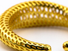 DRAGON TALES Strutura, Bracelet Thick, Medium Size 3d printed
