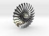 Turbine Alliance gp7200 40mm polished metal 3d printed