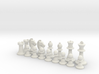 Classic Chess Set 3d printed
