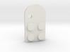 Lego Mathing Couple Necklace: Left Hole 3d printed