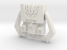 Headmaster, G1 Smirking Face (Titans Return) 3d printed