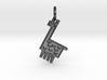 Llama Pendant 3d printed