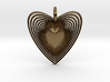 Pendant of Heart (No.2) 3d printed
