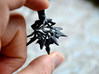 Surreal Lantern Earrings - Standard Pair 3d printed Black Strong and Flexible
