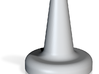 Porcelain Small Cone Plug 3d printed