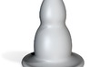 Porcelain Baby Plug 3d printed