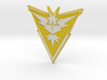 Pokemon Go - Team Instinct Badge 1 3d printed