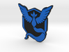 Pokemon Go - Team Mystic Badge 2 3d printed